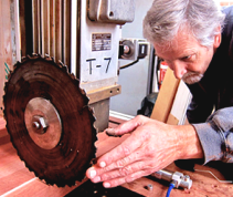 Wood turning & hand finishing